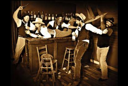 Members of Sol Driven Train pose for album art. (Photo courtesy soldriventrain.com).