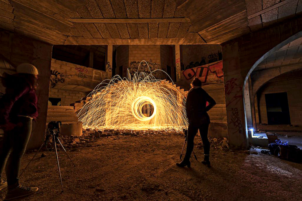 Night Photography: Light Painting Workshop by Simon Waldram