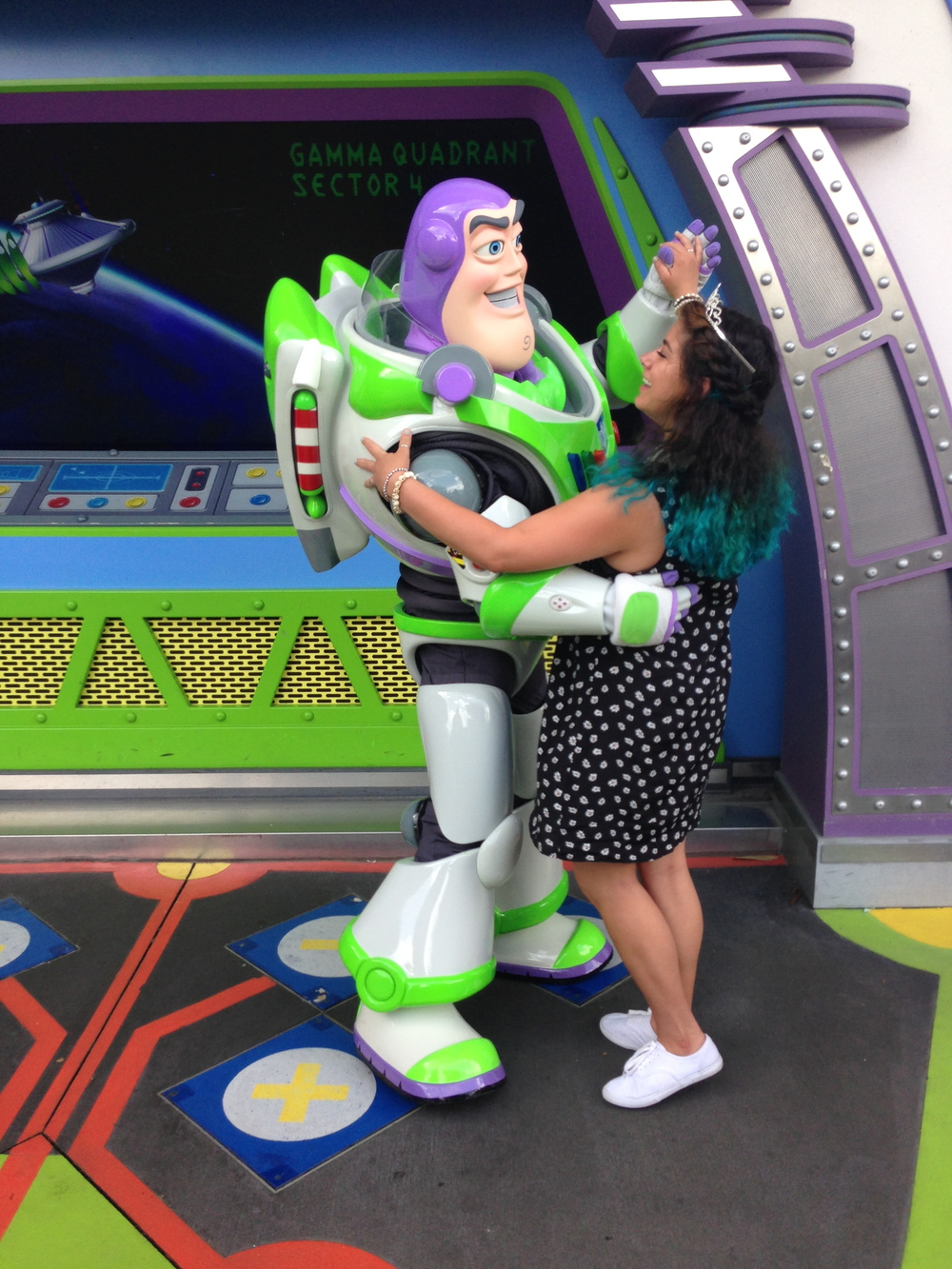 Our date is on Saturday. i'm not sure if Buzz took a shine to me OR if he just  really  wanted to dance.