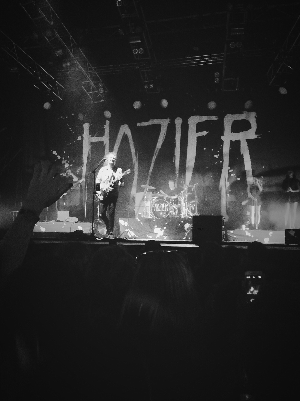 being this close to Hozier during a performance was a dream come true.