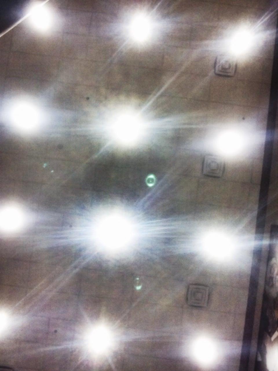 Cool lights at Barnes and Nobel