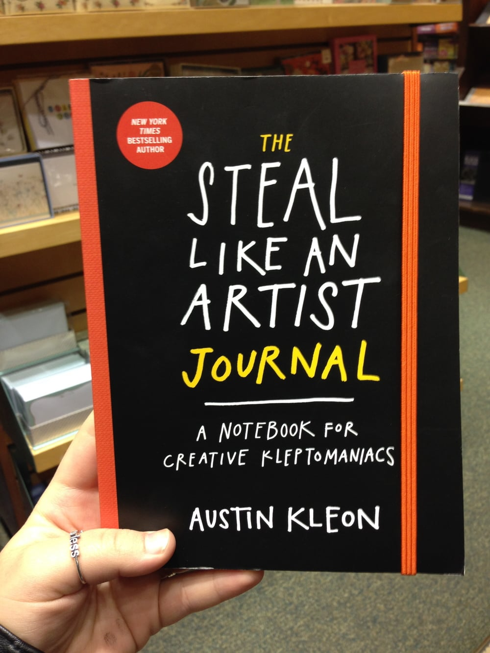 Light reading on how to steal. To indulge in my Klepto side.