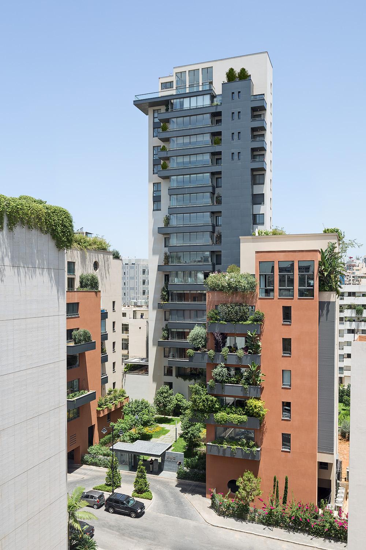 Badaro Gardens - AAA, Atelier des Architectes Associés