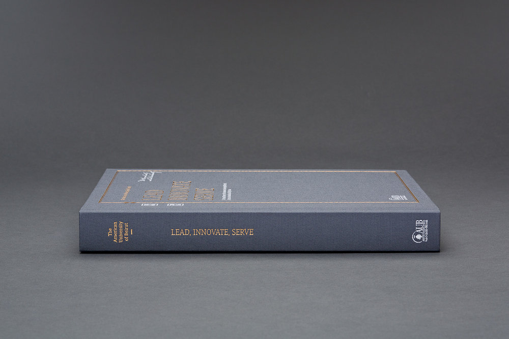 AUB 150 Years Book - Communication Design