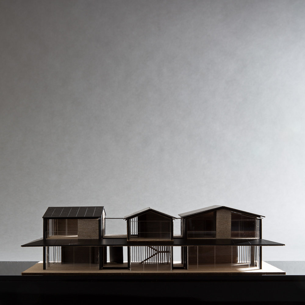 The Glass House Model - Karim Nader Studio