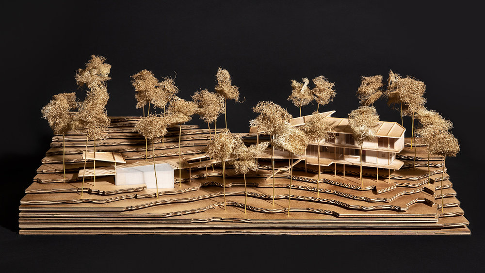 The Long House Model - Karim Nader Studio