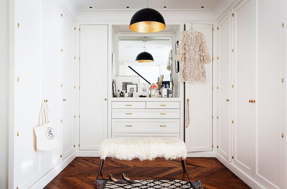Alexandrea Jarvis Architecture and Interiors | Alison Cayne's West Village Townhouse | Modern White Paint