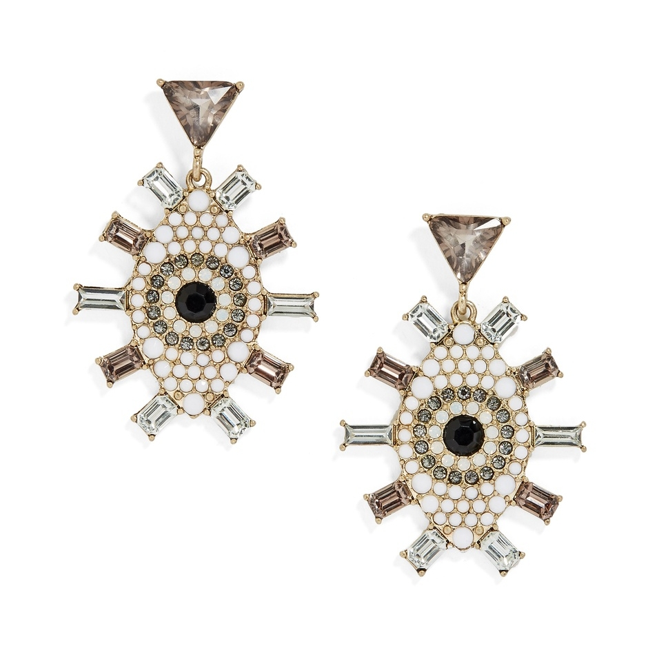 Sunday Best | Evil Eye Earrings | Alexandrea Jarvis Architecture and Interiors