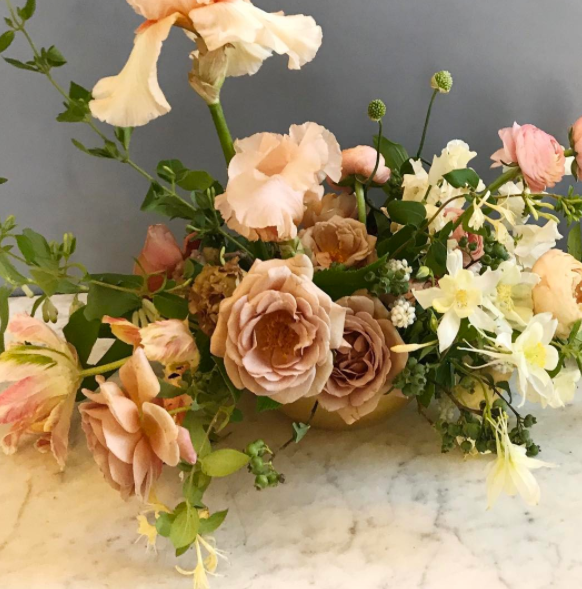 The Local Florist to Follow on Instagram : Tinge Floral | Alexandrea Jarvis Architecture and Interiors