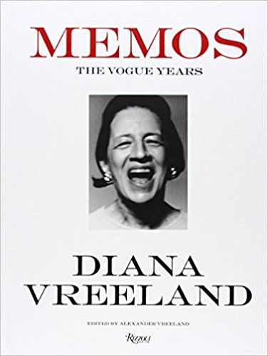 Well Read Book Club - Memos: The Vogue Years, Diana Vreeland