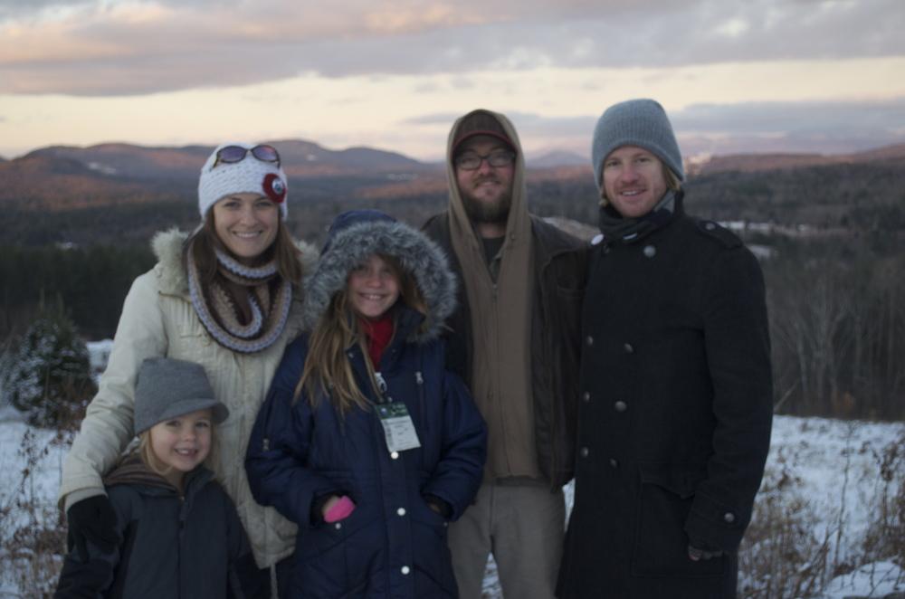 White Mountain with the Francis Family