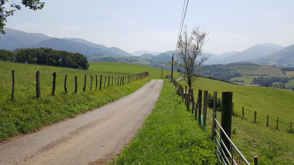 Basque country road