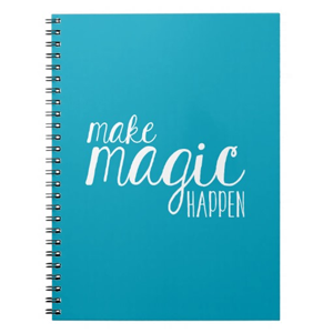 Make Magic Happen Notebook