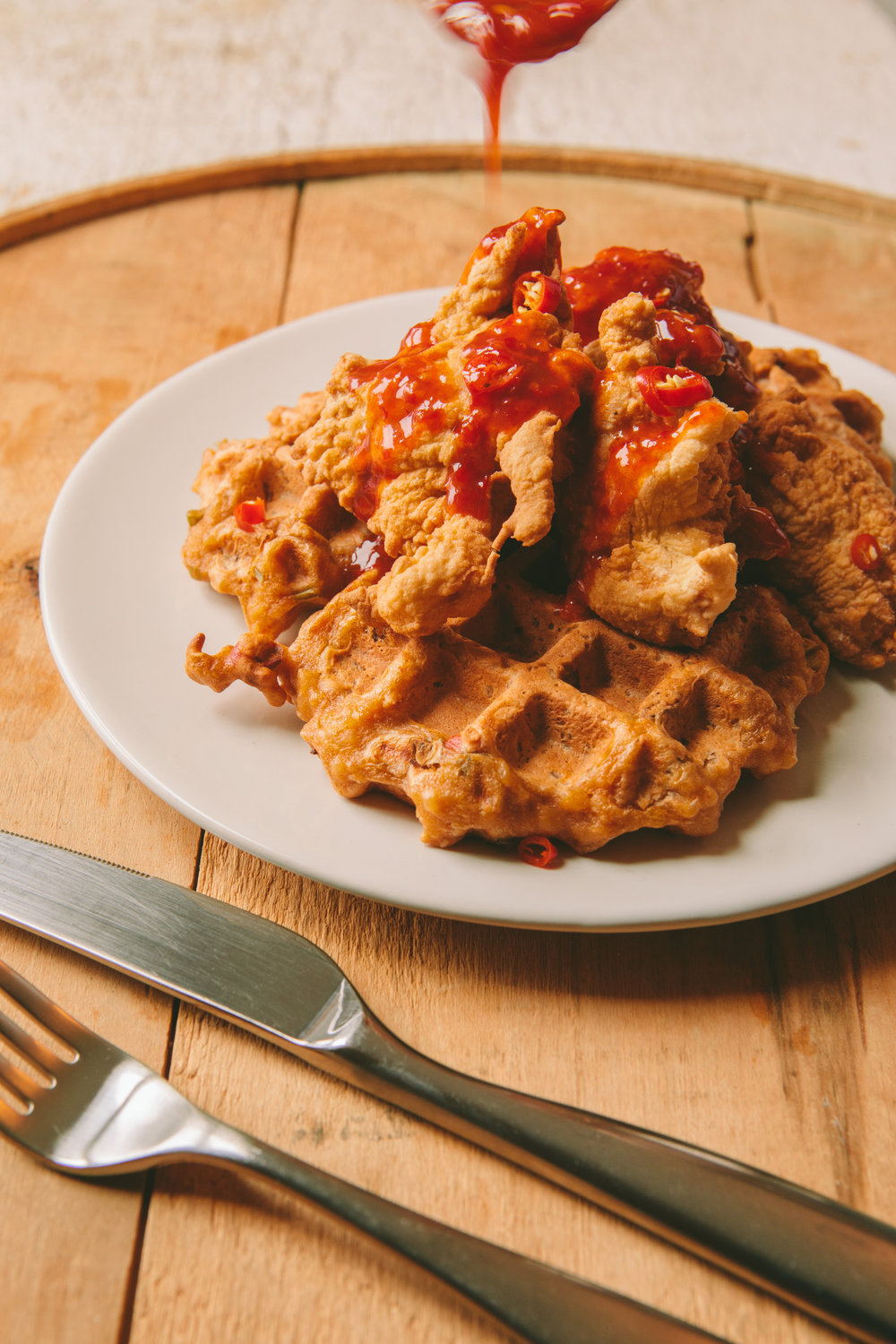 The Art of the Mashup_General Gau Chicken and Pork Fried Waffles_Brian Samuels Photography_January 2017-8883.jpg