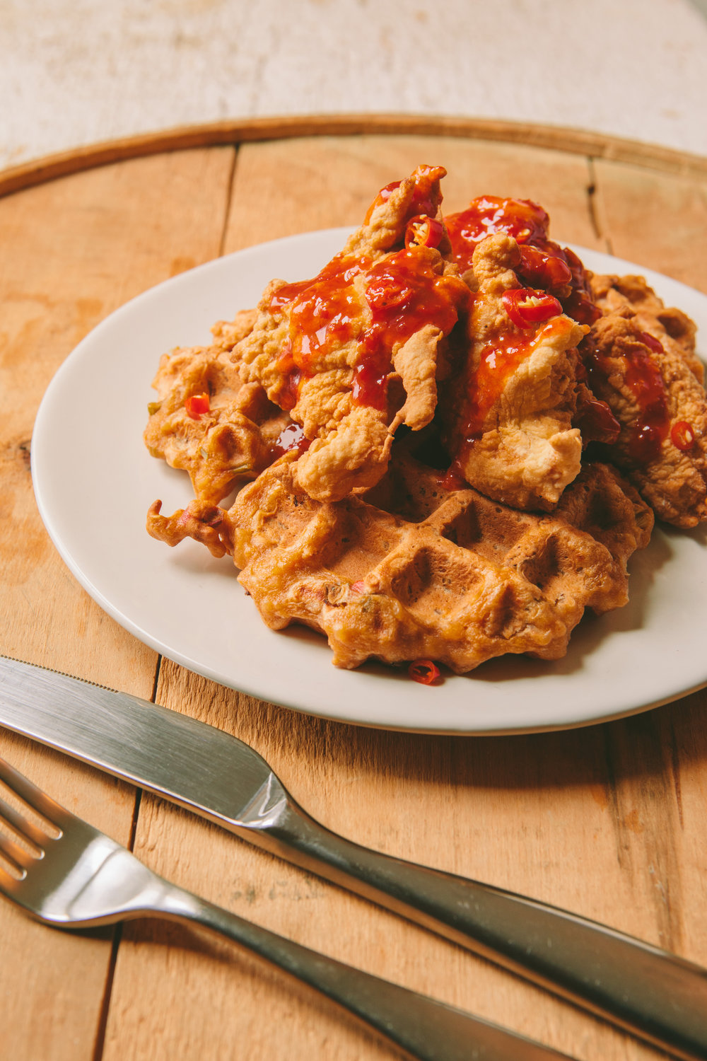 The Art of the Mashup_General Gau Chicken and Pork Fried Waffles_Brian Samuels Photography_January 2017-8897.jpg