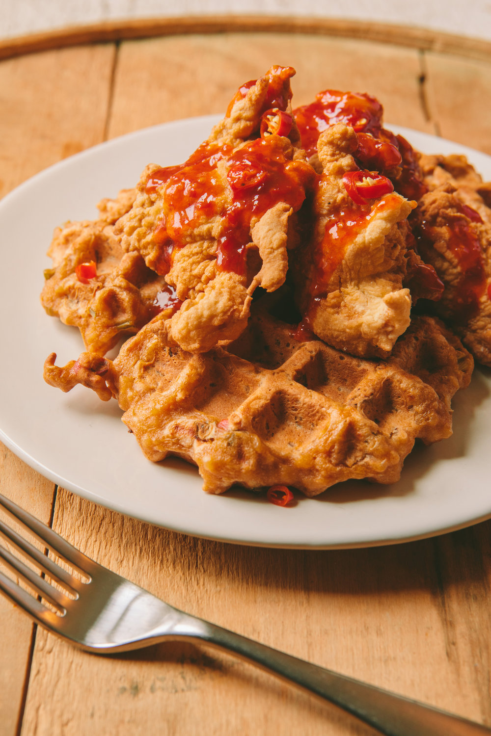 The Art of the Mashup_General Gau Chicken and Pork Fried Waffles_Brian Samuels Photography_January 2017-8903.jpg