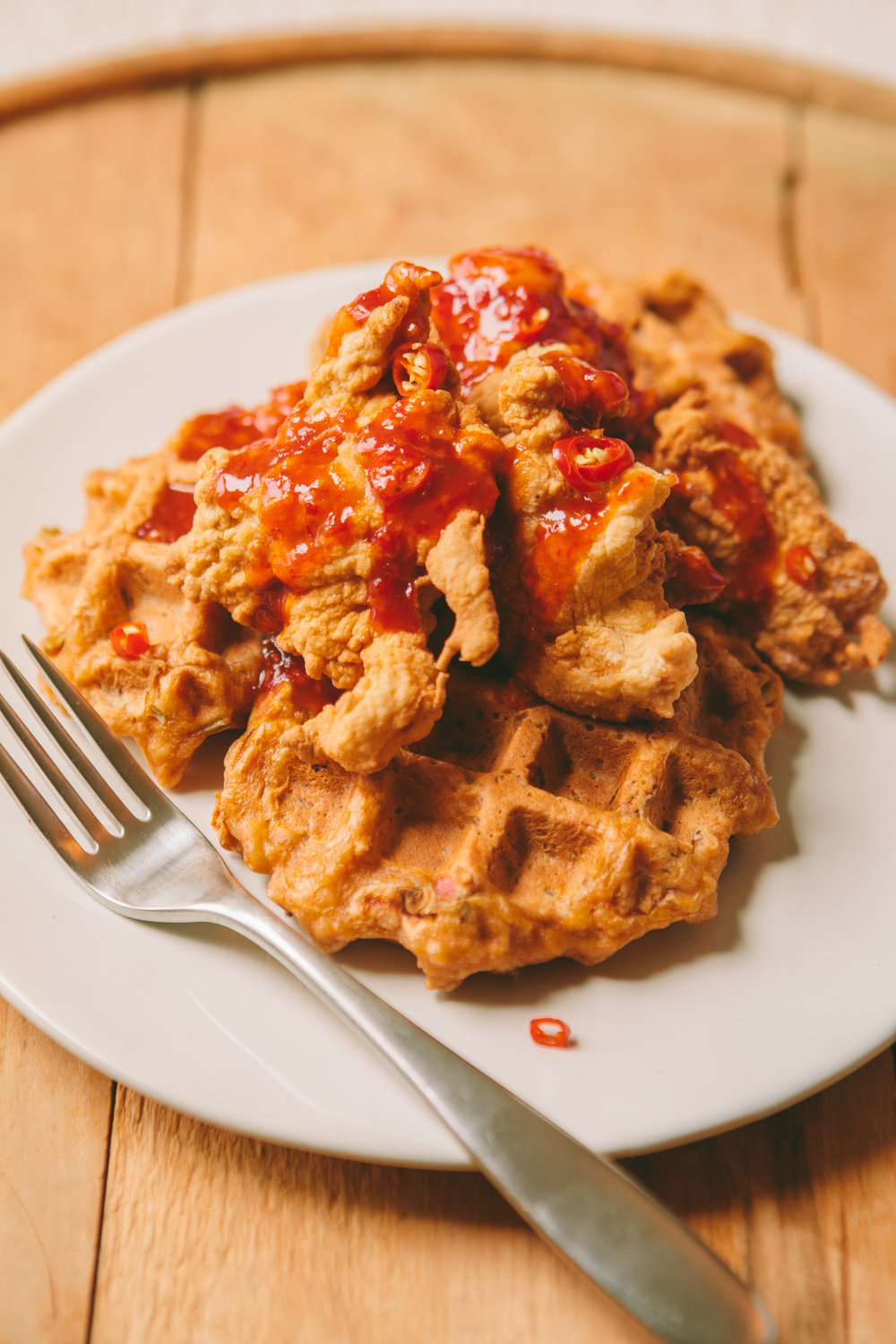 The Art of the Mashup_General Gau Chicken and Pork Fried Waffles_Brian Samuels Photography_January 2017-8917.jpg