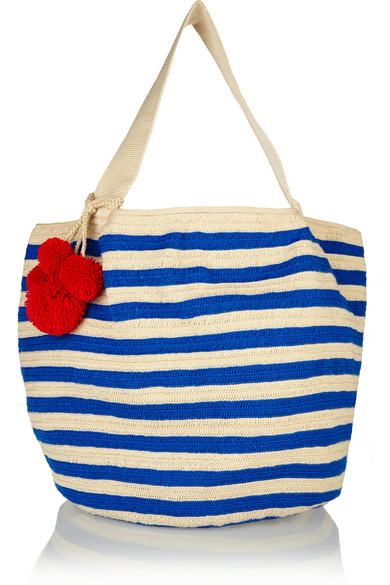 Sophie Anderson - Jonas Crocheted Cotton Tote £425