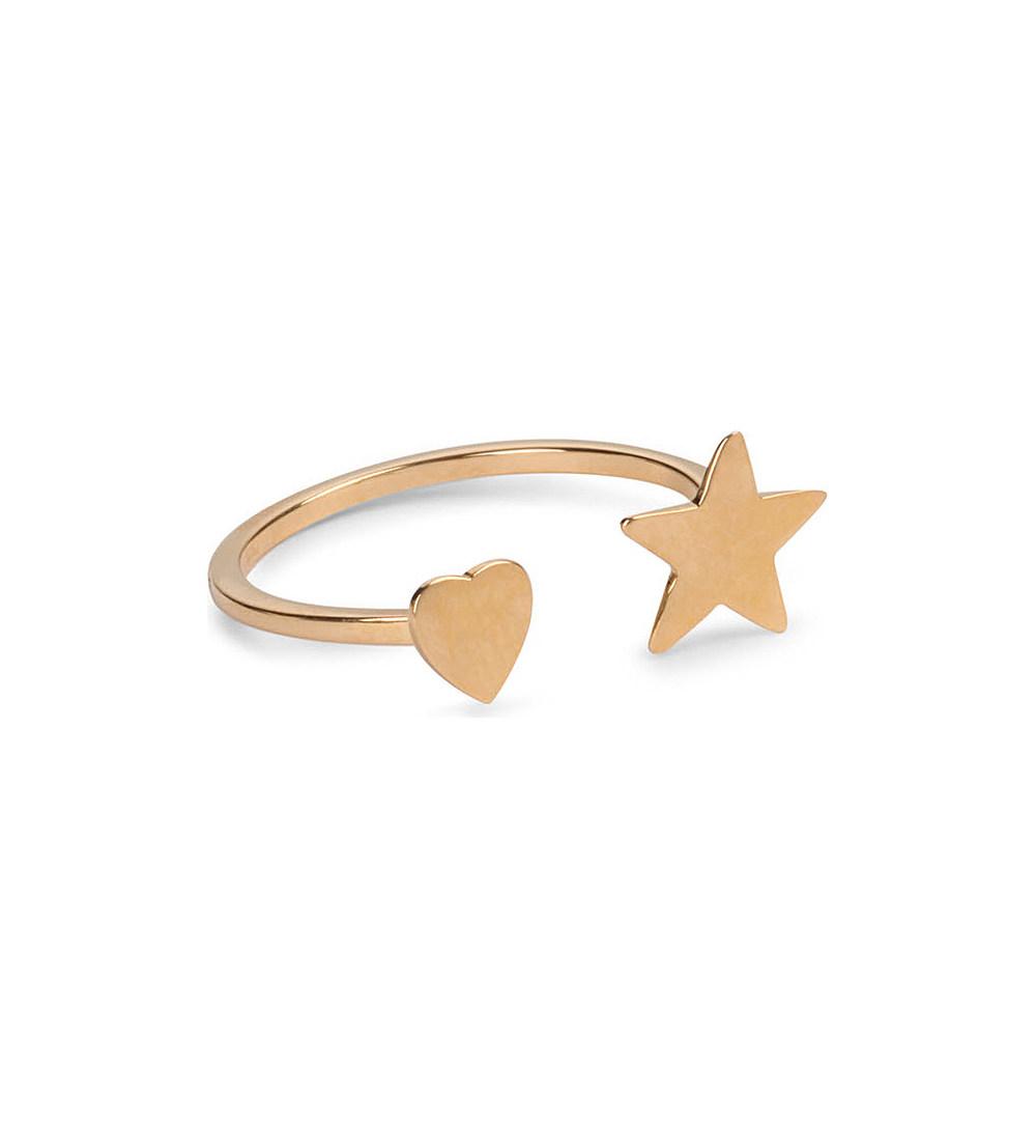 Saint Lauren - Star and Heart Ring £175
