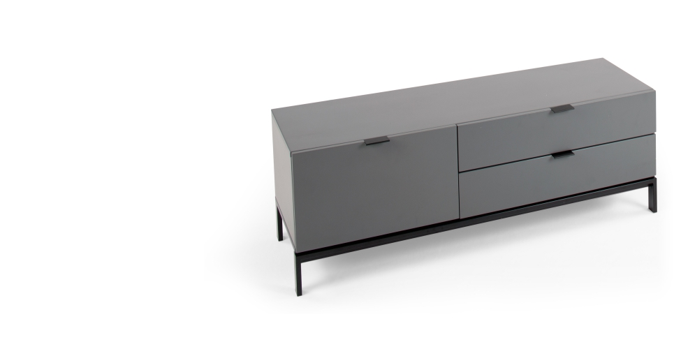 made - marcell media unit in grey £299