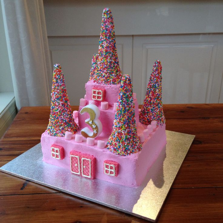 A Princess Castle Cake The Bathonian