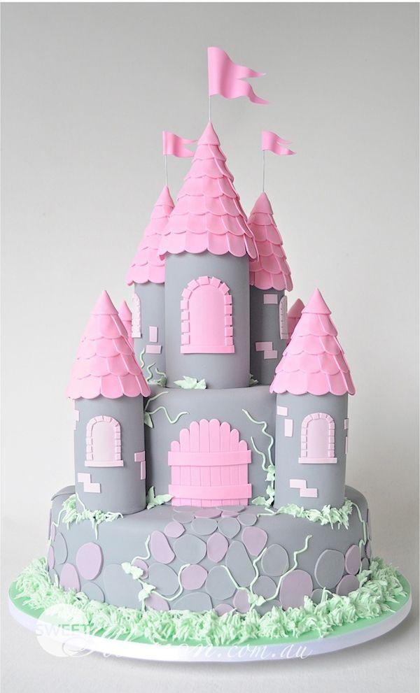 A Princess Castle Cake The Bathonian