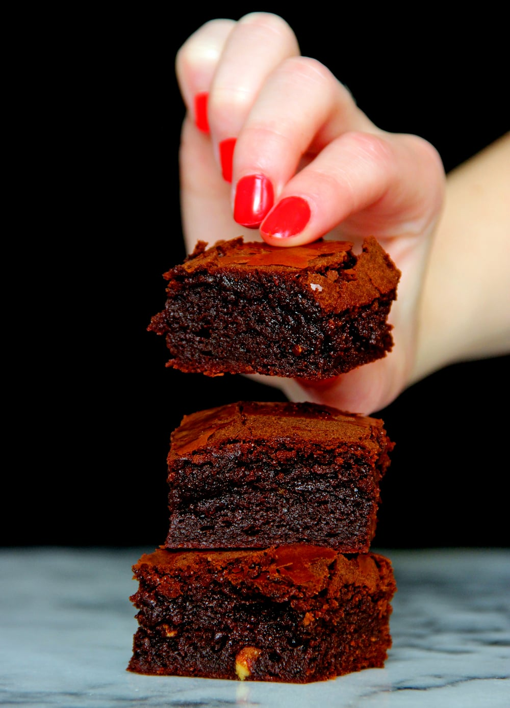 Homemade Recipe Chocolate Brownies