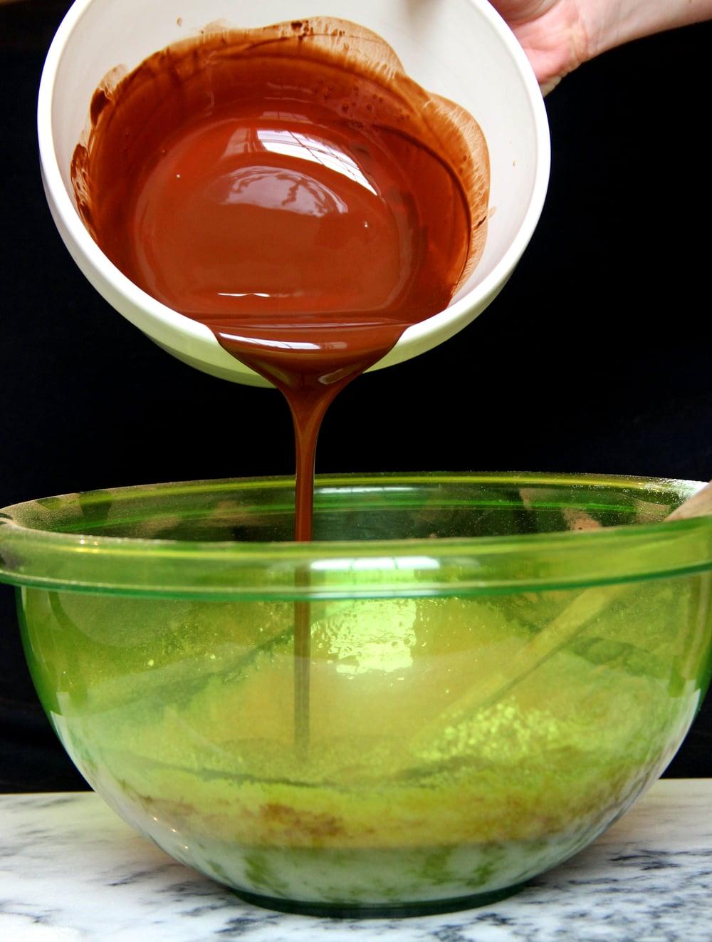 Homemade Recipe Chocolate Brownies