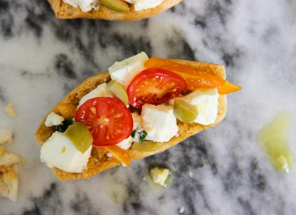Homemade Recipe Greek Dakos