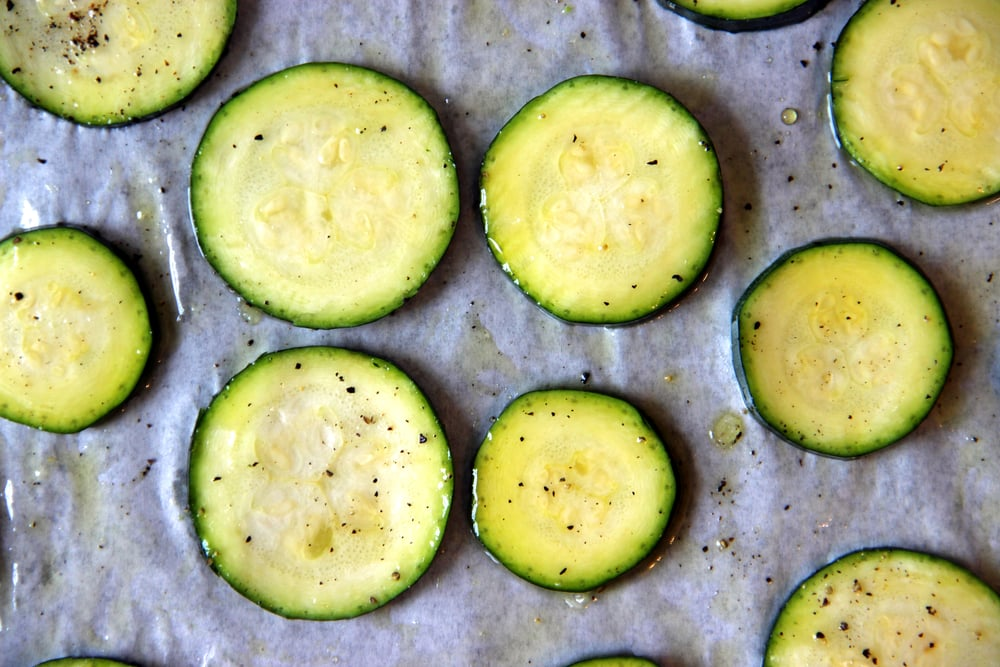 Homemade Recipe Zuccini Crisps