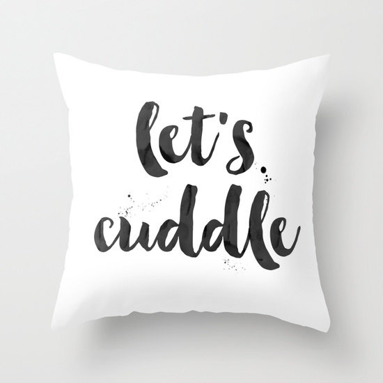 HUNTLEIGH CO ON ETSY -Let's Cuddle Pillow £28.10 + SHIPPING