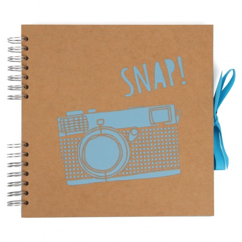 PAPERCHASE - Camera laser cut self adhesive album £12