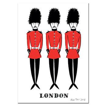 Alice Tait London Soldiers Print