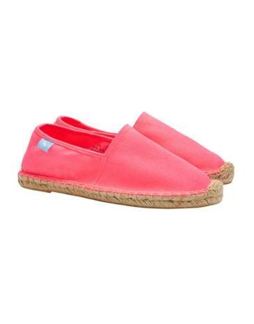 JOULES - ESPADRILLES IN TRUE PINK - £29.95