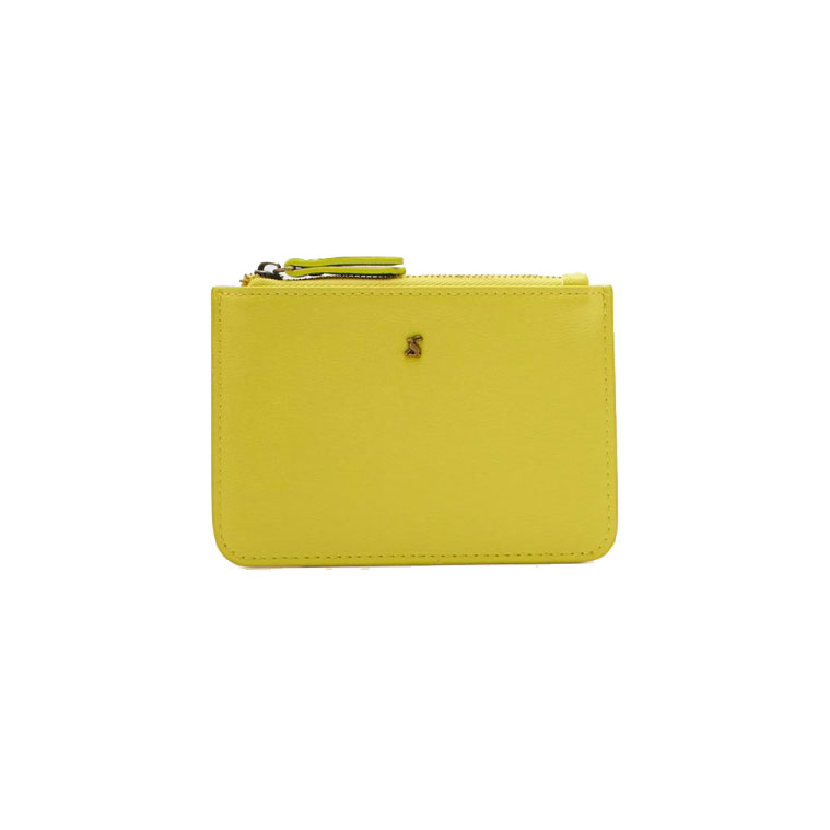 JOULES - PUTNEY COIN POUCH IN LEMON - £12.95