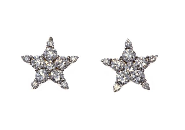 NICHOLAS WYLDE - DIAMOND STAR EARRINGS - POA