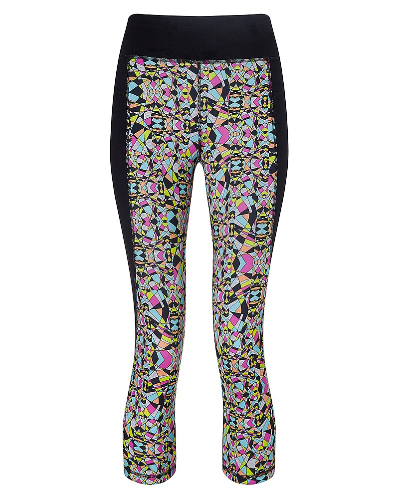SWEATY BETTY - PADMASANA REVERSIBLE 3/4 YOGA LEGGINGS - £70
