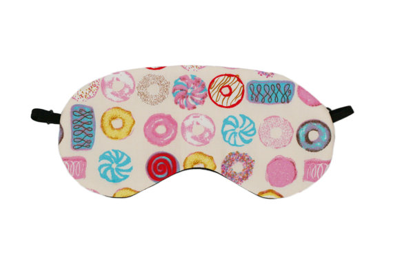 ETSY UK CREAM SWEET TREATS EYE MASK DONUT SLEEP MASK £10