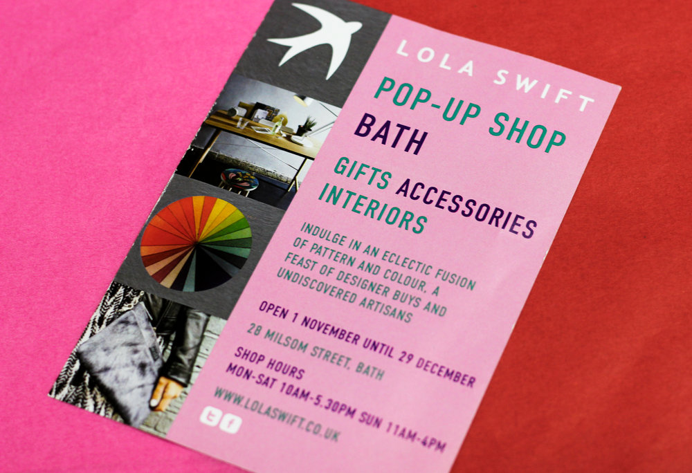 Lola Swift Pop-Up Shop Bath Christmas