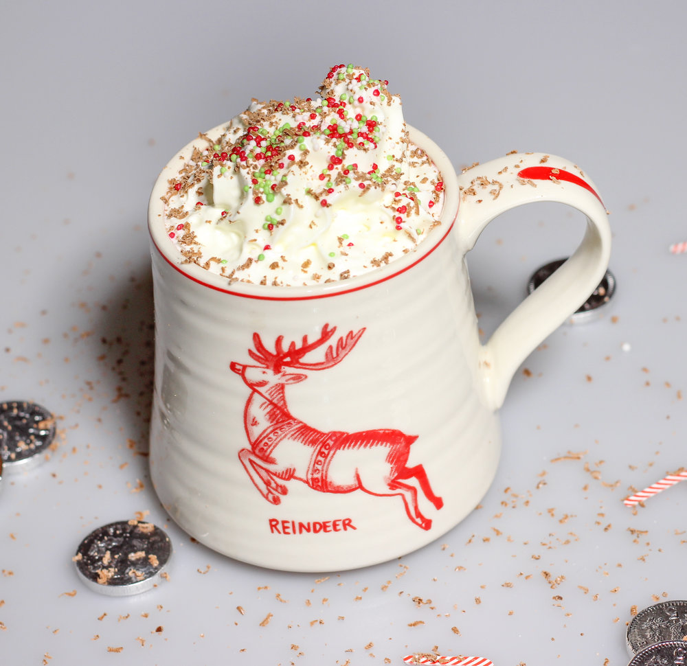 Homemade Recipe Peppermint Hot Chocolate