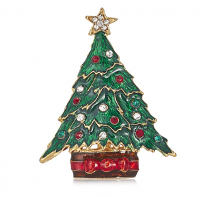 BILL SKINNER CHRISTMAS TREE BROOCH - £25.00
