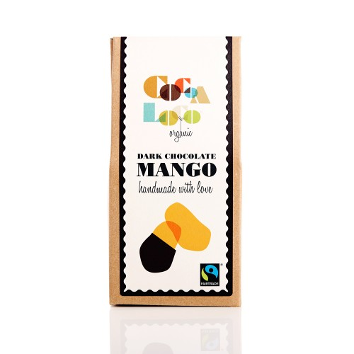 THE FOODIE BUGLE SHOP COCOA LOCO DARK CHOCOLATE MANGO - £4.00