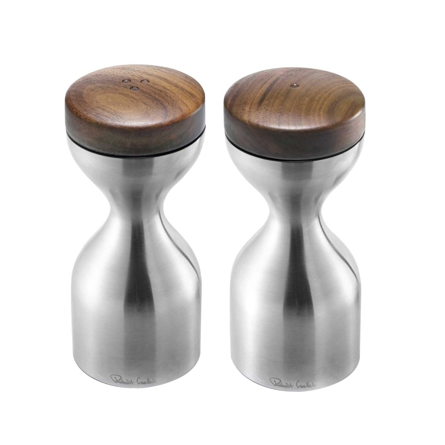 ROBERT WELCH LIMBREY SALT & PEPPER MILL SET SATIN - £78.00