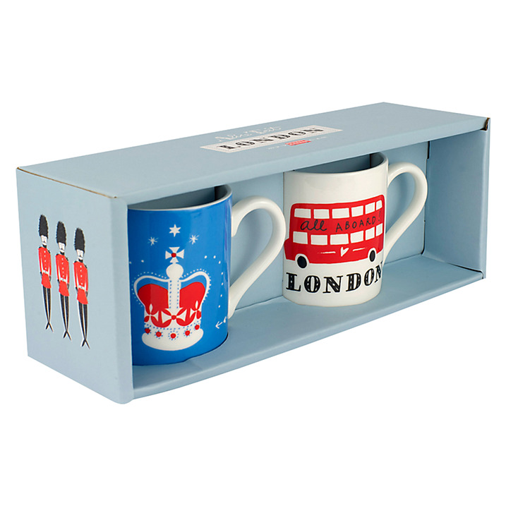 ALICE TAIT SHOP 'LONDON' ESPRESSO SET - £12.00
