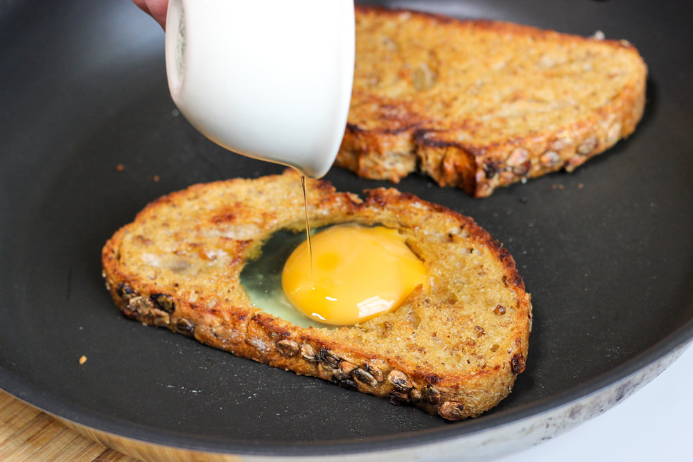 Homemade Recipe Breakfast Sandwich