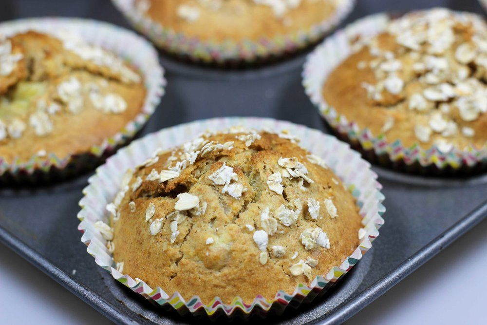 Homemade Recipe Whole Wheat Muffins
