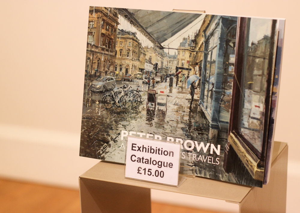 Peter Brown Artist Exhibition Victoria Art Gallery Review