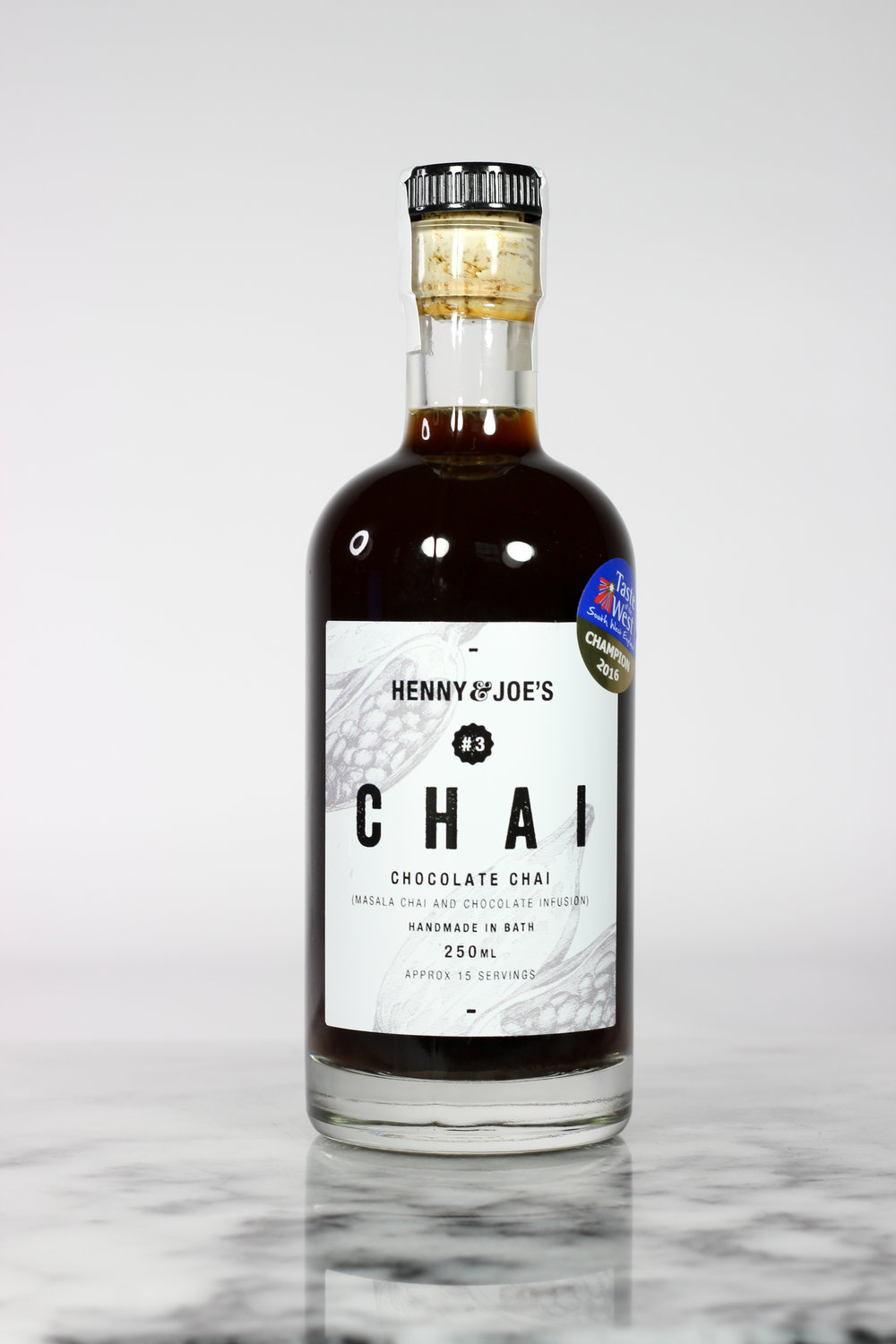 Henny & Joes Chai Chocolate Syrup Recipe