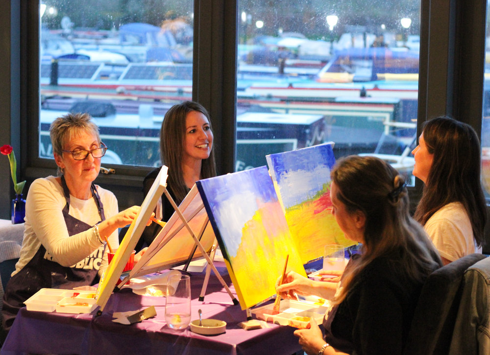 The Paint Republic Party The Boat House Bradford on Avon