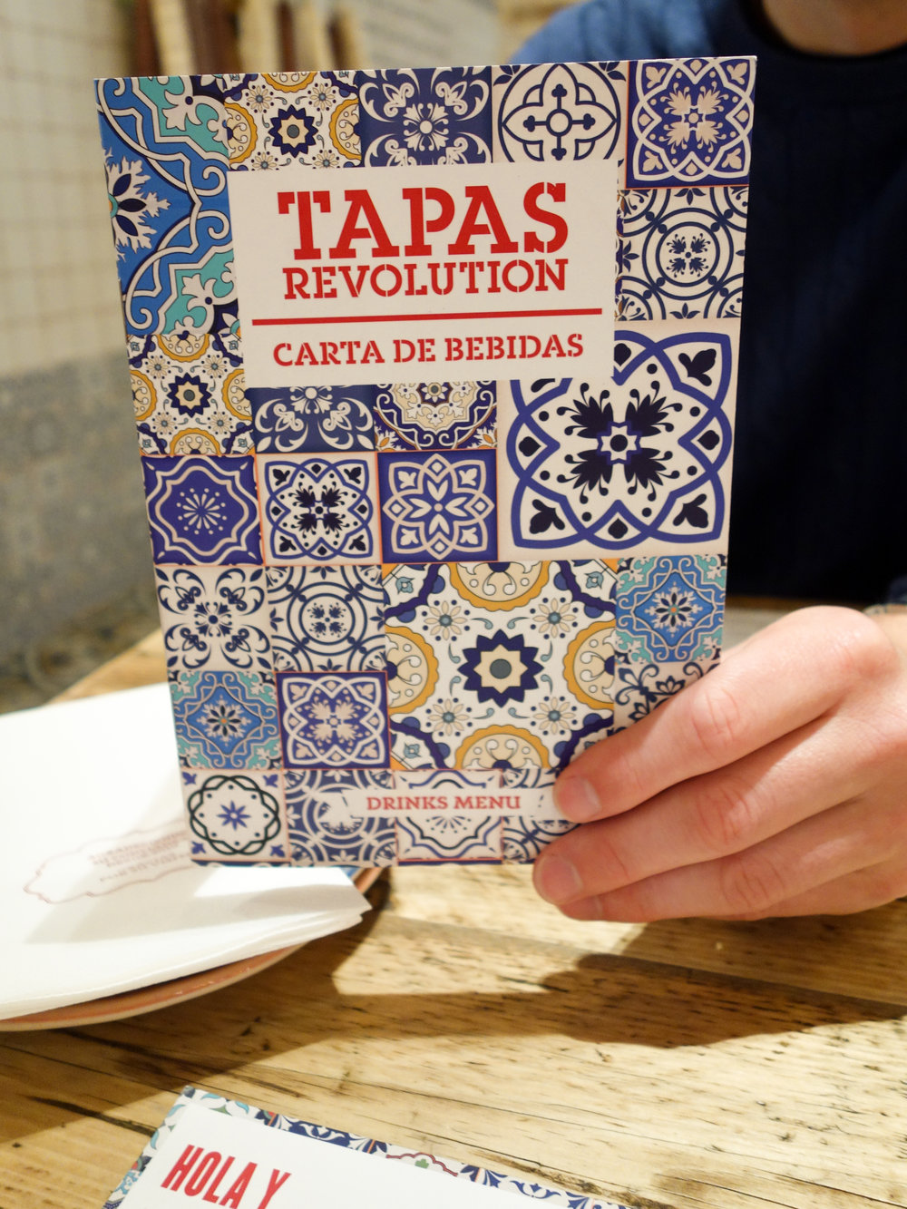 Tapas Revolution Restaurant Review Bath